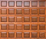 Wood Panel garage door