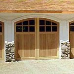 Cedarcrest garage door picture