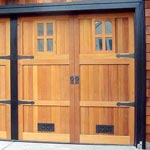 Gold Coast custom garage door picture