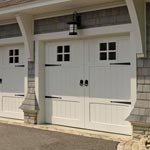 Gold Coast white garage door picture
