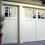 San Clemente with Monterey top garage door picture