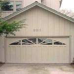 Sunray garage door picture