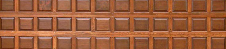 Wood Panel Door Picture